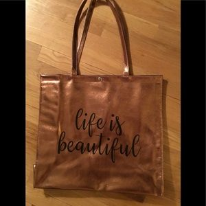 Handbags - large beach or shopping tote
